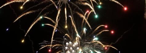 Keflavik fireworks