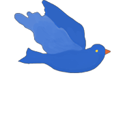 Bluebird image from Gretchen Rubin's Happiness Project