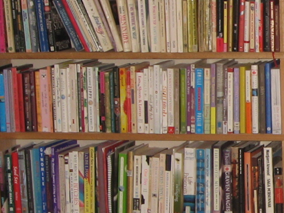One year.  100 books.  Check.