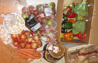 Dumpster diving: reports from the food waste front