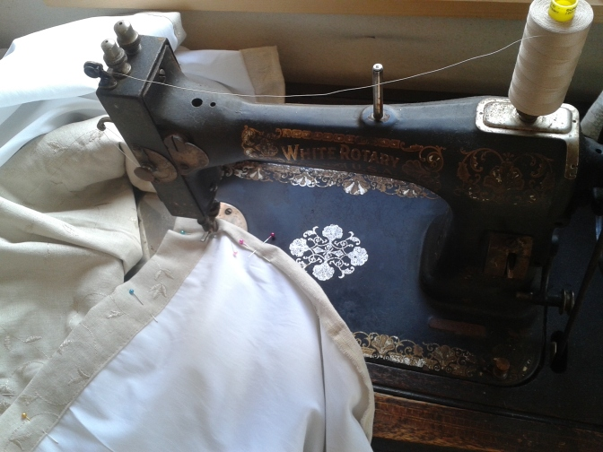 Manual sewing